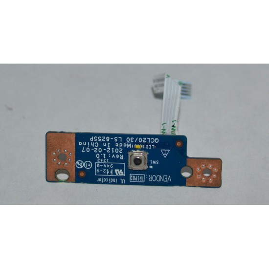 DELL VOSTRO 3560 POWER BUTTON BOARD