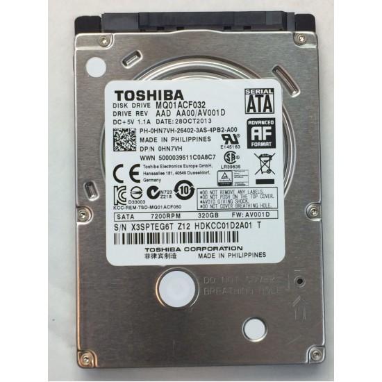 TOSHIBA ARIZALI SATA HARDDISK 320 GB MK32063GSXN
