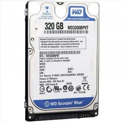 WD ARIZALI HARDDİSK 320 GB WD3200BPVT